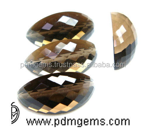 Smoky Quartz Watermelon Slice Cut Lot For Gold Bands From Manufacturer