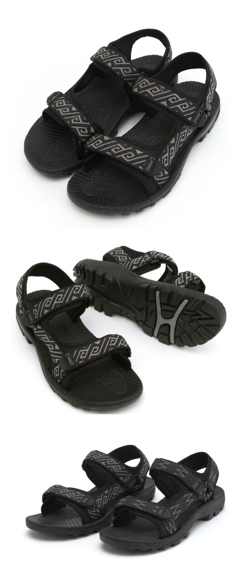 2015 Men New Design Boy Beach Walk Sandal Slippers Beach Shoes ...