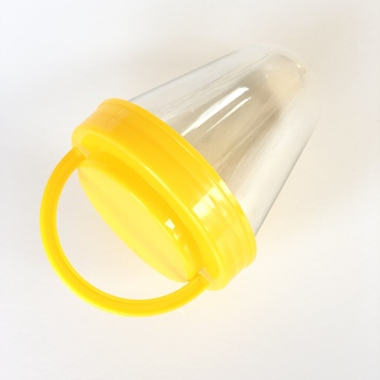 high quality cap of plastic jar can lid with handle