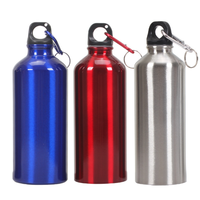1 litre metal sports drinking bottle aluminum water bottle