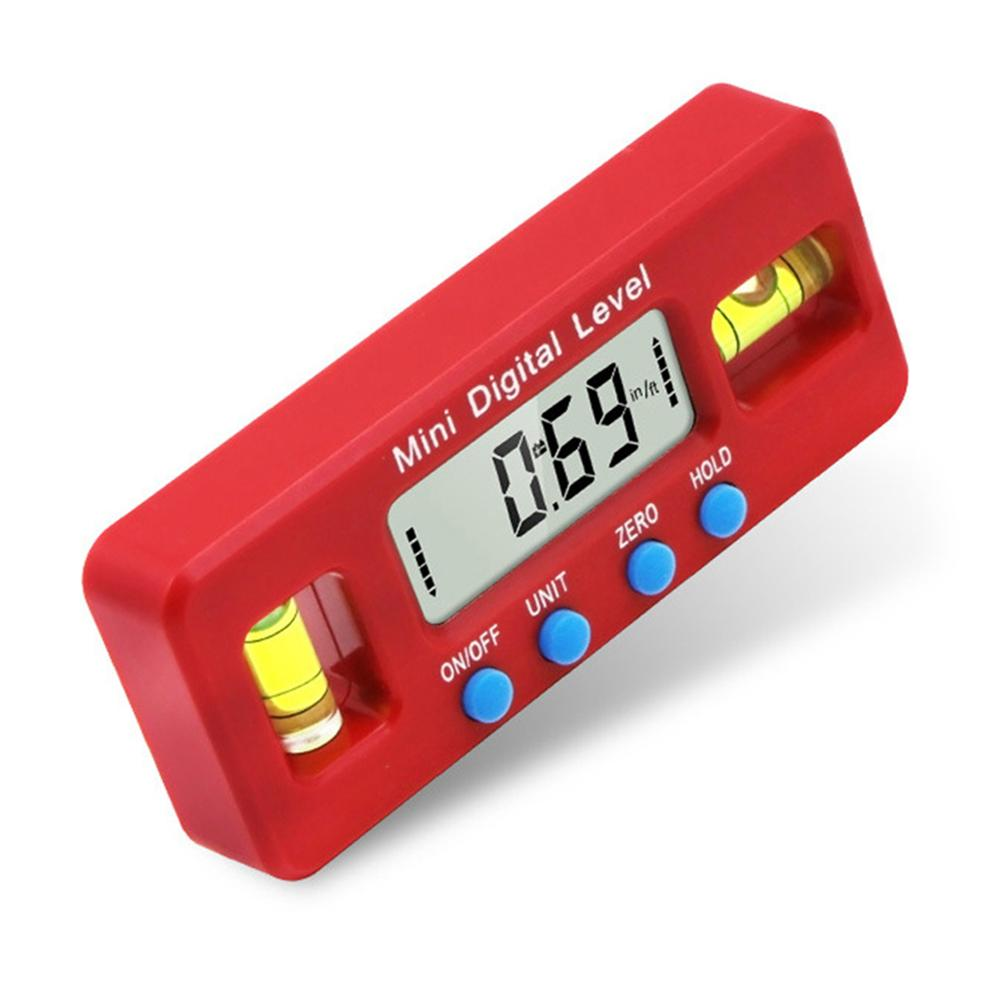 Mini 100mm Measuring Tool Strong Magnetic Level Gauge 자 Angle 파인더 뷰 파인더 경사계 Digital Level