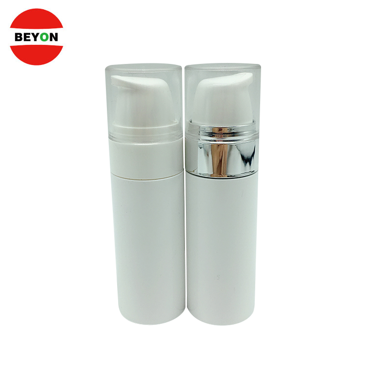 Customized Skin Care 30ml White Luxury Airless Cosmetic Lotion Pump Bottle