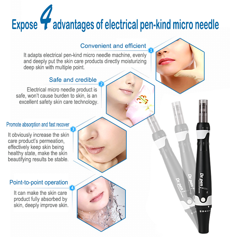 2019 Dr.Pen ULTIMA A7 Electric Derma Stamp Auto Micro Needle Anti-Aging Pen