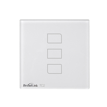 Broadlink TC2 3 gang 1 way smart illuminated network socket switch with automation system
