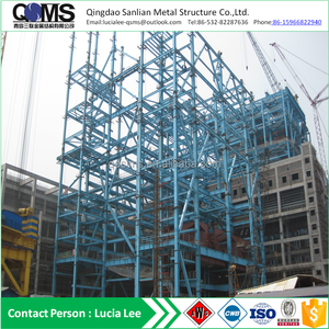 Prefabricated steel structure power mill pre enginieered building with ISO