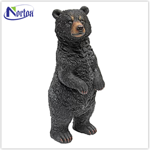 Top quality best price fiberglass bear sculptures for sale NTBM-397A