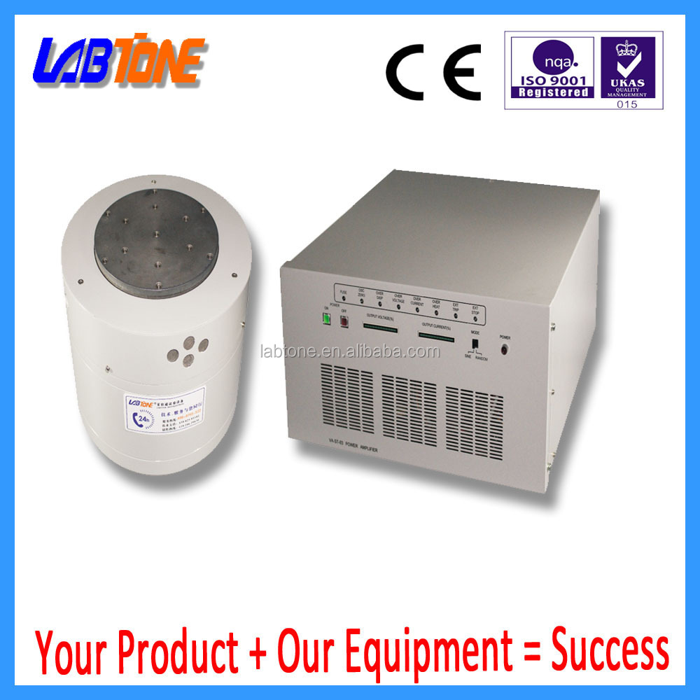 Minitype vibration testing system for high hrecision vibration meter calibration