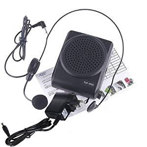 3 in 1 Mini 8 Multi Voice Changer Microphone Megaphone Loudspeaker Black by Other Vehicle Electronics