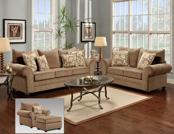 L Shaped Loveseat Sofa Set