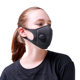 washable custom black motorcycle biker 3 ply pm 2.5 anti-smog filter breath control half face N95 dust mask