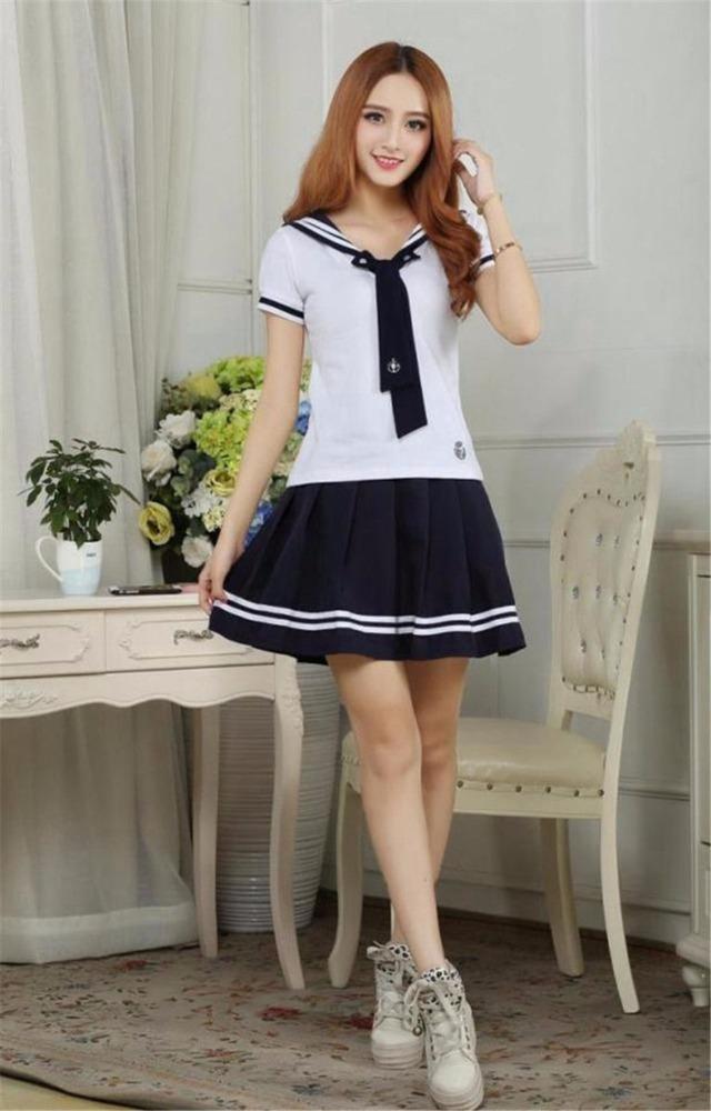 Фото корейских девушек в школьной форме фото 435-417