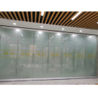 Philippines Conference Room Sliding Double Glass Door Partition Wall