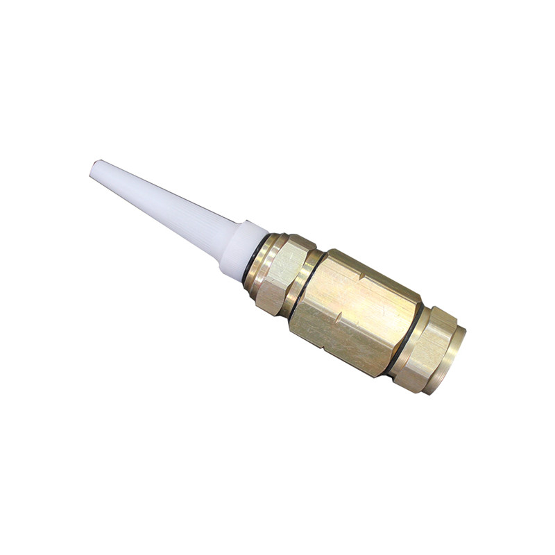 CATV Hardline Aluminium Material Waterproof QR540 Pin Connector for QR 540 Coaxial Cable