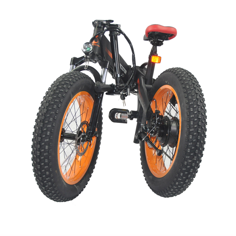 Electric Bicycle 48V 500W folding electric <strong>bike</strong> 20inch china electric fat <strong>bike</strong> wholesale