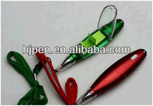 Hot Selling New Design Sticky Notes Ballpen With LED Light