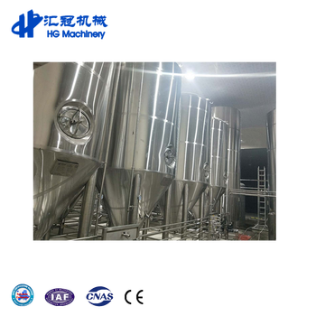 Factory Supply 5000L Fermenter Craft Commercial Beer Brewery Brewing Equipment
