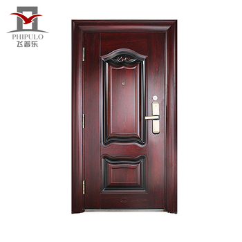Zhejaing Single Safety Door Design Iron Door,steel Main Door Design