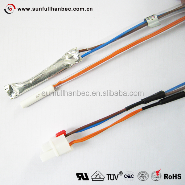 Refrigerator Defrost Sensor and Thermal Fuse pvc thermal fuse, pvc thermal fuse suppliers and manufacturers at ice maker wiring harness thermal fuse at bakdesigns.co