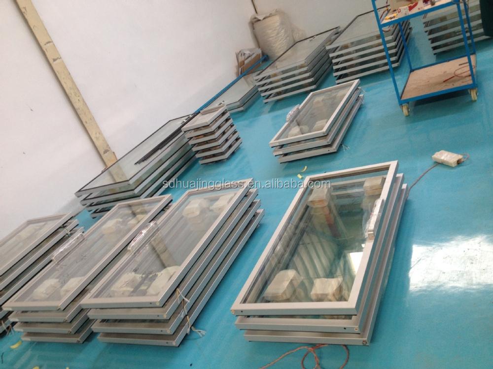 Anti Fog Aluminum Glass Doors For Supermarket Display Walk In Cooler