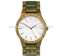 Design your own wood watches customized simple style good quality bamboo watch