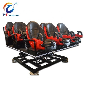 9 Seats Cinema Equipment 5D , Big 7D Cinema Projector , 9D Simulator For Sale