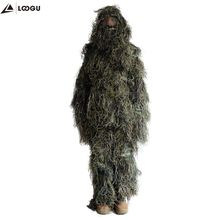 Woodland Ghillie Pak <span class=keywords><strong>Jacht</strong></span> Camo <span class=keywords><strong>Kleding</strong></span> Voor Outdoor-activiteiten <span class=keywords><strong>Jacht</strong></span>, Wargames, Schieten, Wildfowling, Stalking, Paintball