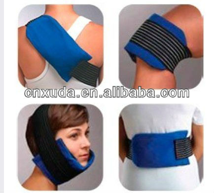 Reusable Hot Cold Therapy Heat Ice Gel Pack Knee Back Injury Post Op Wrap Sleeve