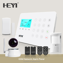 Two-way intercom home GSM alarm system support 8 groups alarm call Thief-proof Invasion Emergency with SIM Card Alarm System
