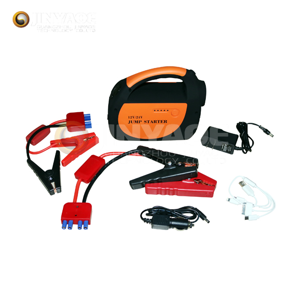 bus engine booster 30000mah 12v 24v jump starter replacement battery