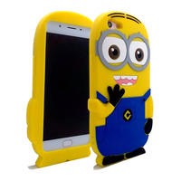 cheap waterproof 3D cartoon silicone phone case