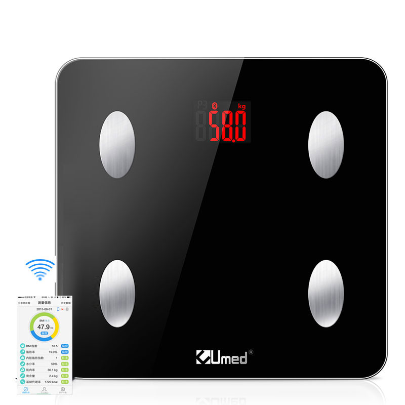180kg/400lb Digital Bluetooth Weighing <strong>Scale</strong> Free App Wireless Smart Body Fat <strong>Scale</strong>