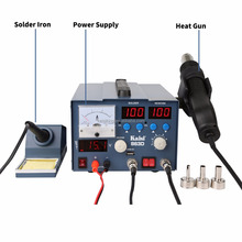 Kaisi Hot Air Gun 3 in 1 SMD Soldering Rework Station With 3A Power Supply