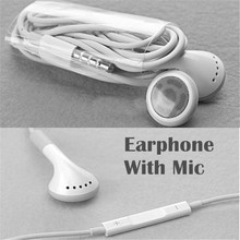 New Best Headset Earphone Headphone With Mic for Apple iPhone 4 4S 3 3G iPod