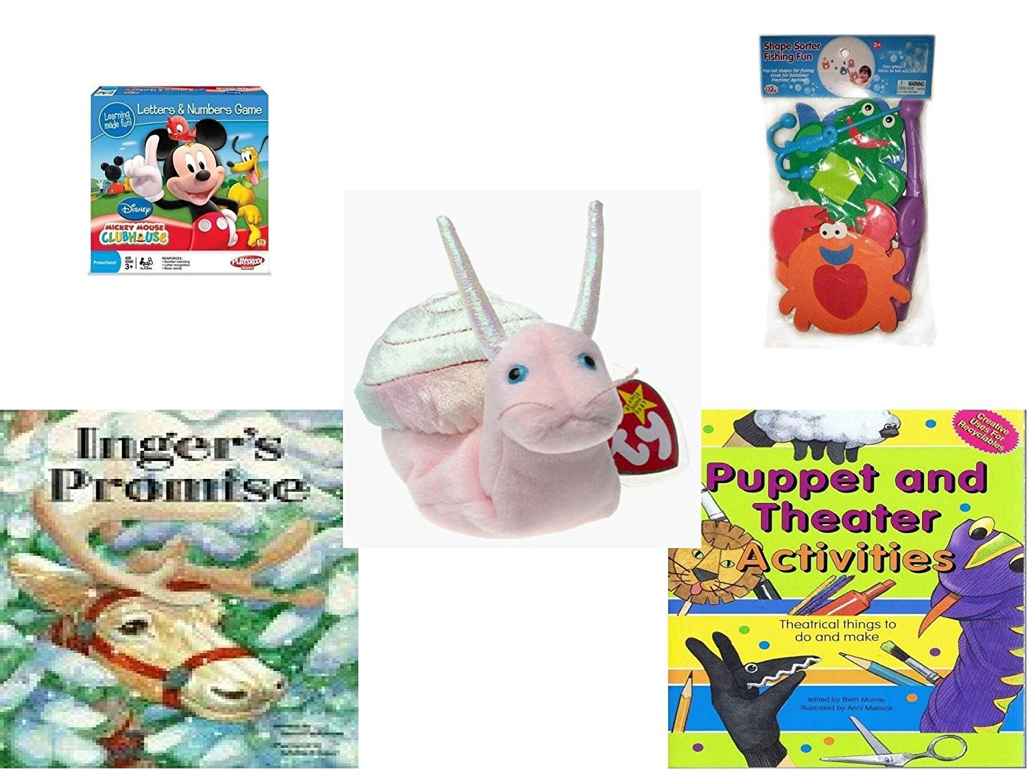 Buy Childrens Gift Bundle - Ages 3-5 [5 Piece] - Mickey Mouse ...