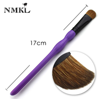 Single Goat Hair Eye Shadow Brushes Private Label Eye shadow Brush Online