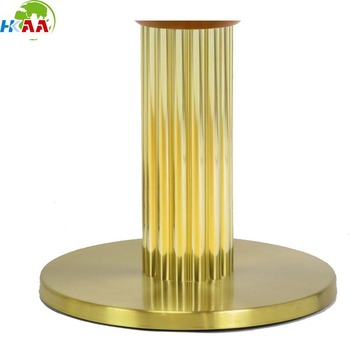 High precision CNC milling table lamp base and salt brass lamp base