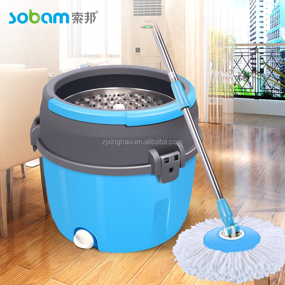 New design household magic floor hurry mop wet&dry system mop