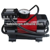 black-red tyre's good partner portable car tire air inflator