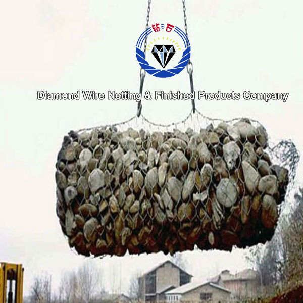 2015 hot sale galvanized gabion box/gabion retaining wall/welded gabion wall building (china factory and exporting)