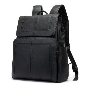 2019 High Quality Top Layer Cow Hide  Snap Backpack