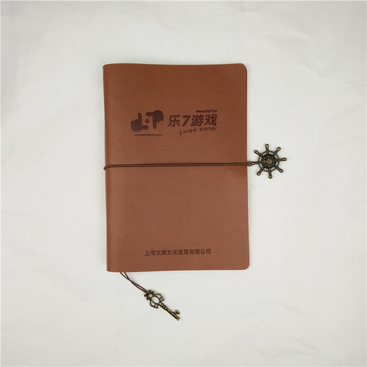 Cusomizing leather travel journal plannre notebook