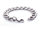 Fashion 316 L Stainless Steel Chain Bracelet With Lobster Clasp, Bracelet Hand Chain For Men