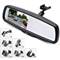 4 3 TFT LCD Car Rear View Bracket Mirror Monitor Parking Assistance With 2 RCA Video