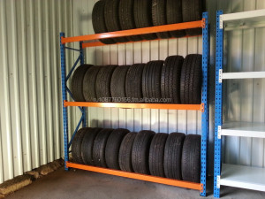 Q235b material metal heavy duty tire display rack