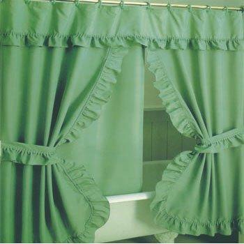 doppio tende da doccia swag-Doccia tenda-Id prodotto:11265438 ...