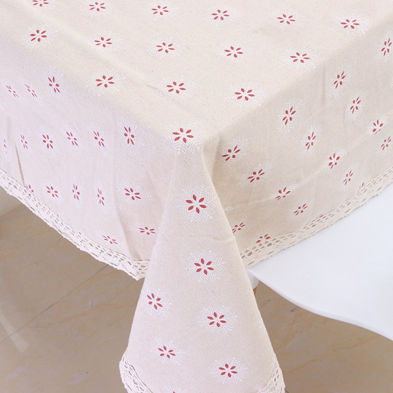 Willow Table Cloth Laminated Tablecloths