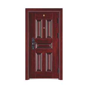 Door Entry Wrought Iron stainless glass mexin steel interior with metal cabinet door lock