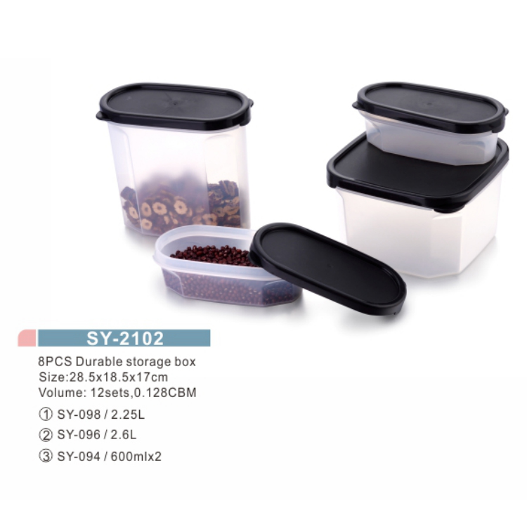 Oven Safe Rectangle Coarse Grain Tank Storage Boxes Bins