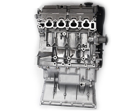 Good quality Aluminum 4 Cylinder JL474Q  97Teeth bare engine assembly for Chanan Star
