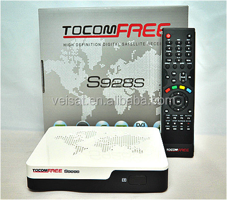 HD decoder tocomfree s928s/ s929 plus support free iks+sks+wifi for south america